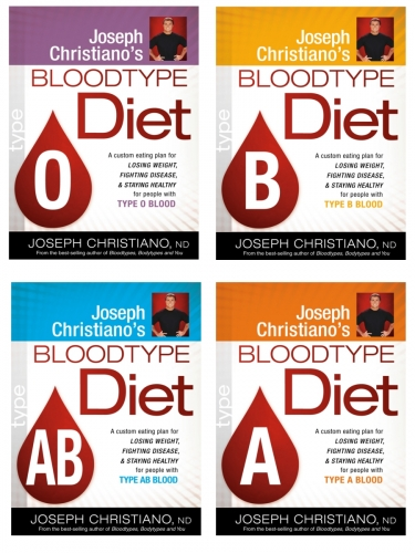 A1 Blood Type Diet Individual Books Per Blood Type