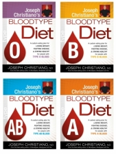 A1-Blood Type Diet Individual books per blood type